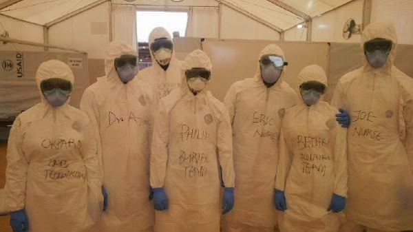 Nigerian Ebola Health Volunteers in Sierra Leone