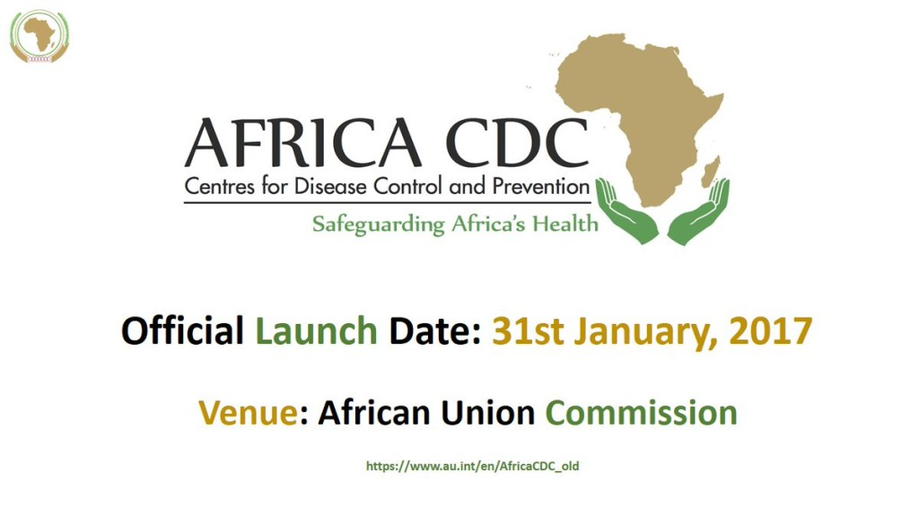 africa cdc launches 31/01/2017 in Abuja