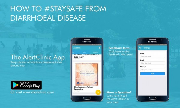 Dear Lagosians, #StaySafe from Diarrhoeal Diseases!