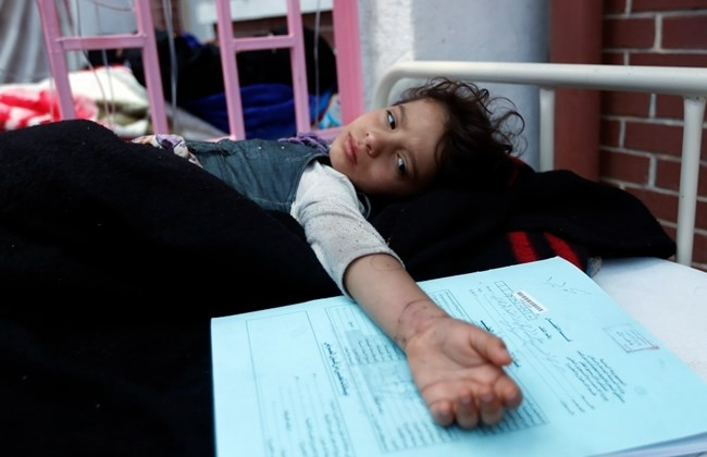 cholera outbreak in yemen