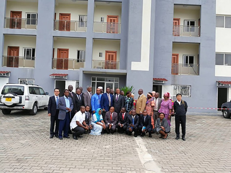 Participants at the meeting to establish the Central Africa CDC Regional Collaborating Centre in Gabon.