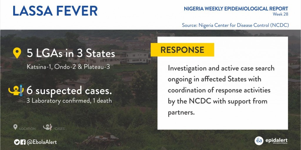 lassa fever report in nigeria